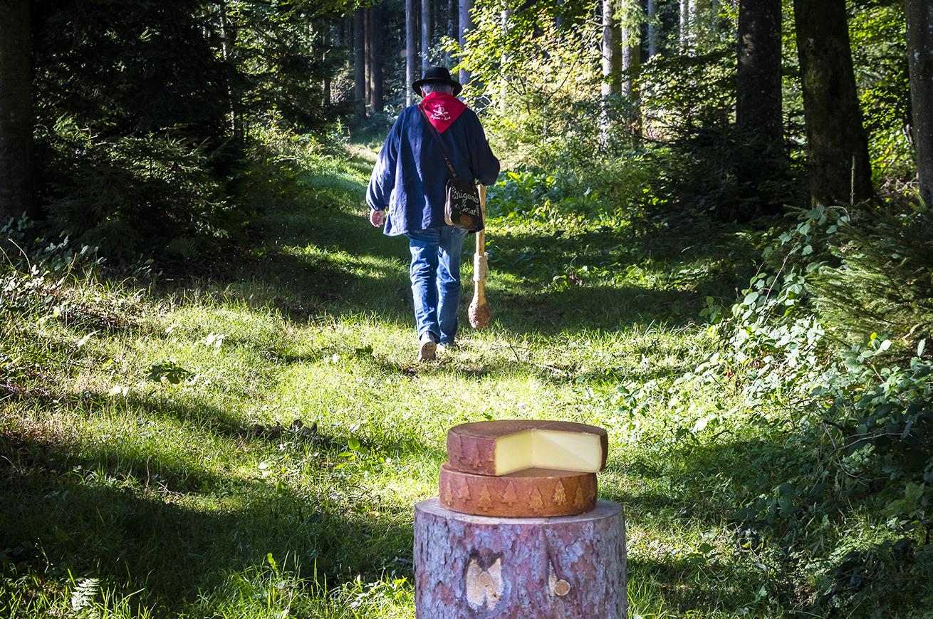 Le Brigand dans les bois du Jorat